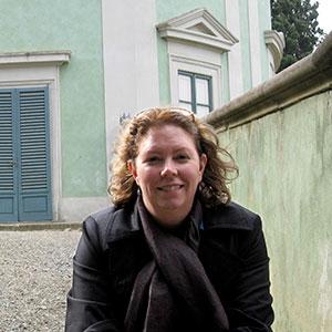 Johanna Adams in Florence